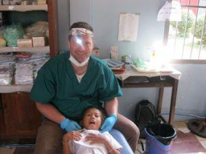 Dr. J in Cambodia Helping School Children 2014
